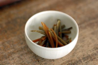 根昆布茶レシピ きんぴらごぼう