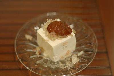 梅醤レシピ 豆腐